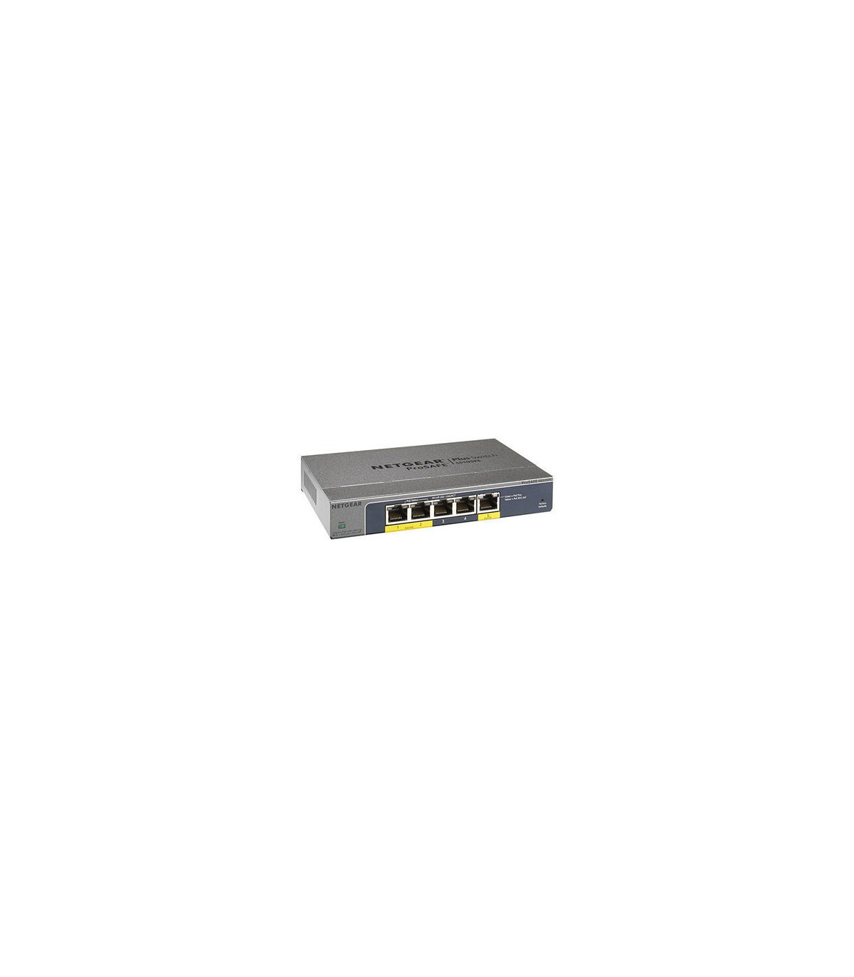 Hub switch 5ptos 10/100/1000 vlan qos netgear