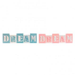 DECORACION PARED MADERA 35X4,5X10 DREAM LEDS SURTIDO