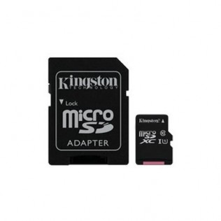 TARJETA DE MEMORIA MICRO SD 16GB KINGSTON CANVAS CL10 UHS-I