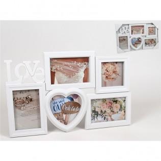 Portafotos love x5(10x15)(10x10)(12x12)