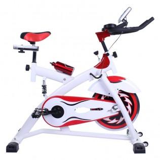 Bicicleta spining con amortiguador dbt-d-07 con volante de inercia de 15kg