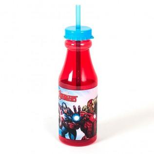 Botella plástico vengadores 500ml