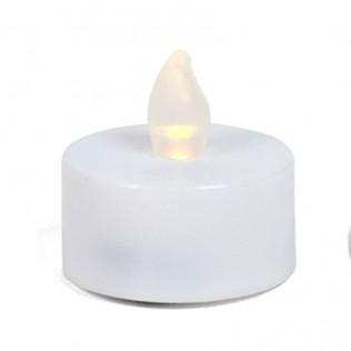 Set velas té led x2 4 cm - plástico