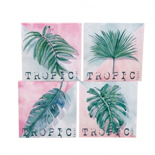 Cuadro tropic 40x40 surtido