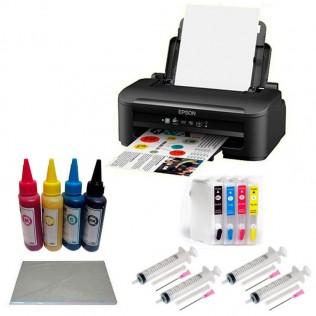 Impresora sublimación epson a4 con cartuchos rellenables