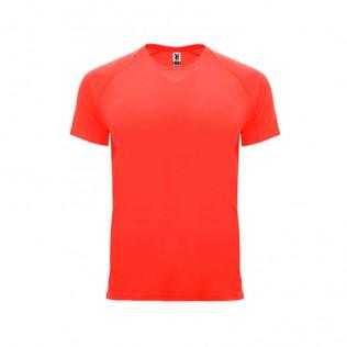 Camiseta técnica manga corta ranglán 135g