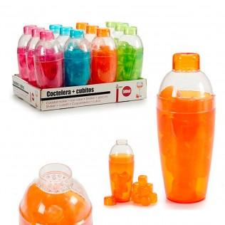 Coctelera plástico con 16 cubitos surtidos 4