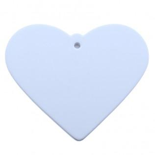 Adorno de cerámica formas corazón para sublimación acf-12