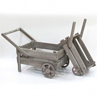 Jardinera lennon 145x85 - gris - madera