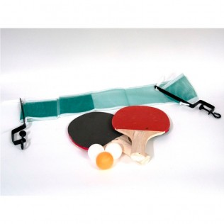 Set ping pong red + 2 palas + 3 bolas