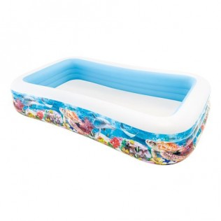Piscina hinchable tropical 305 x 183 x 56cm - 1020l