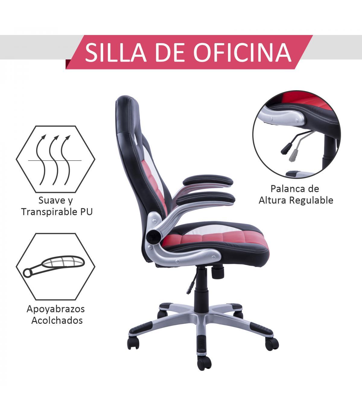 Silla de Oficina Racing Deportiva para Despacho tipo Silla Ejecutiva ...
