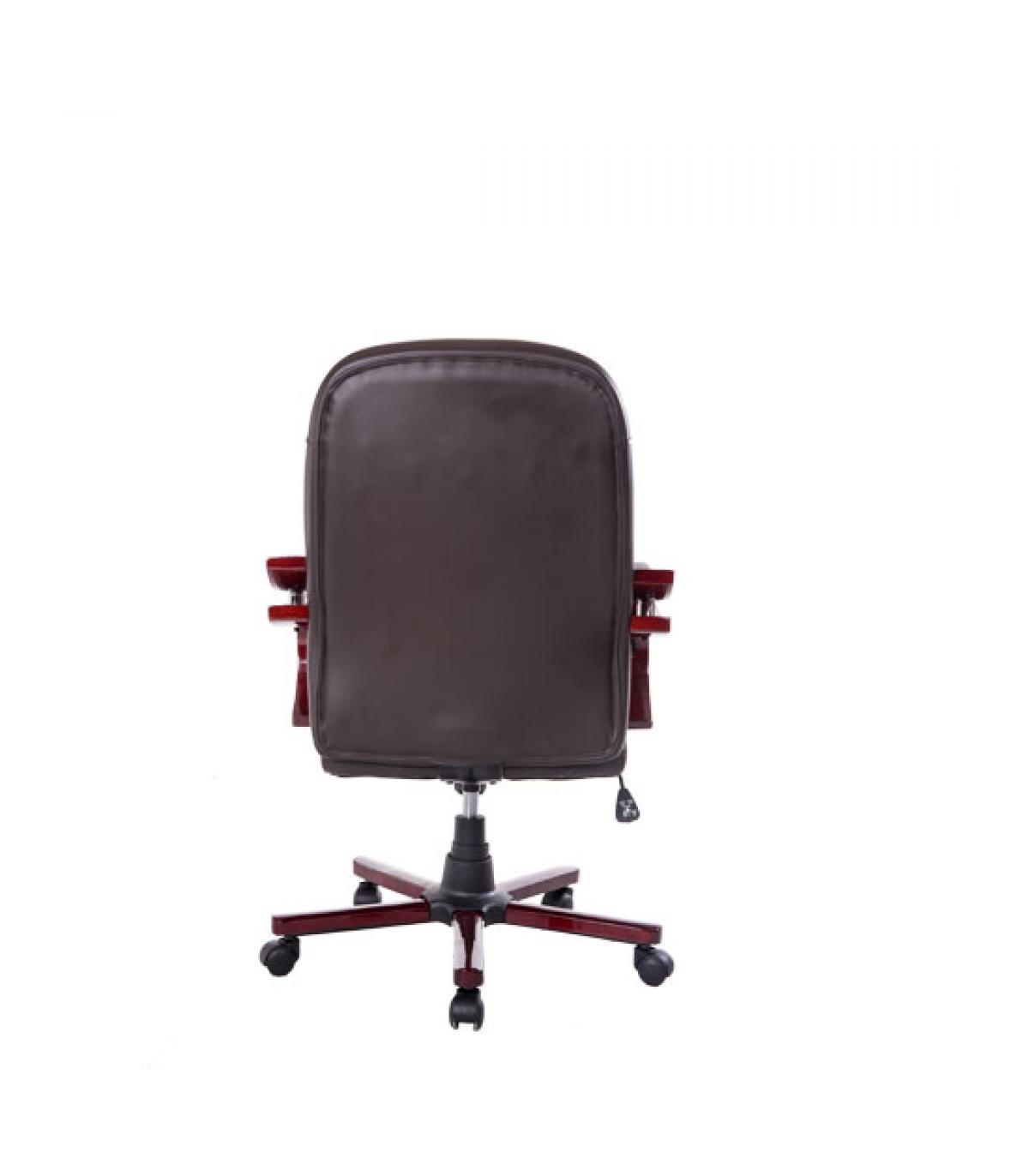 Homcon Silla Oficina Escritorio Giratoria para Despacho - Color Rojo ...