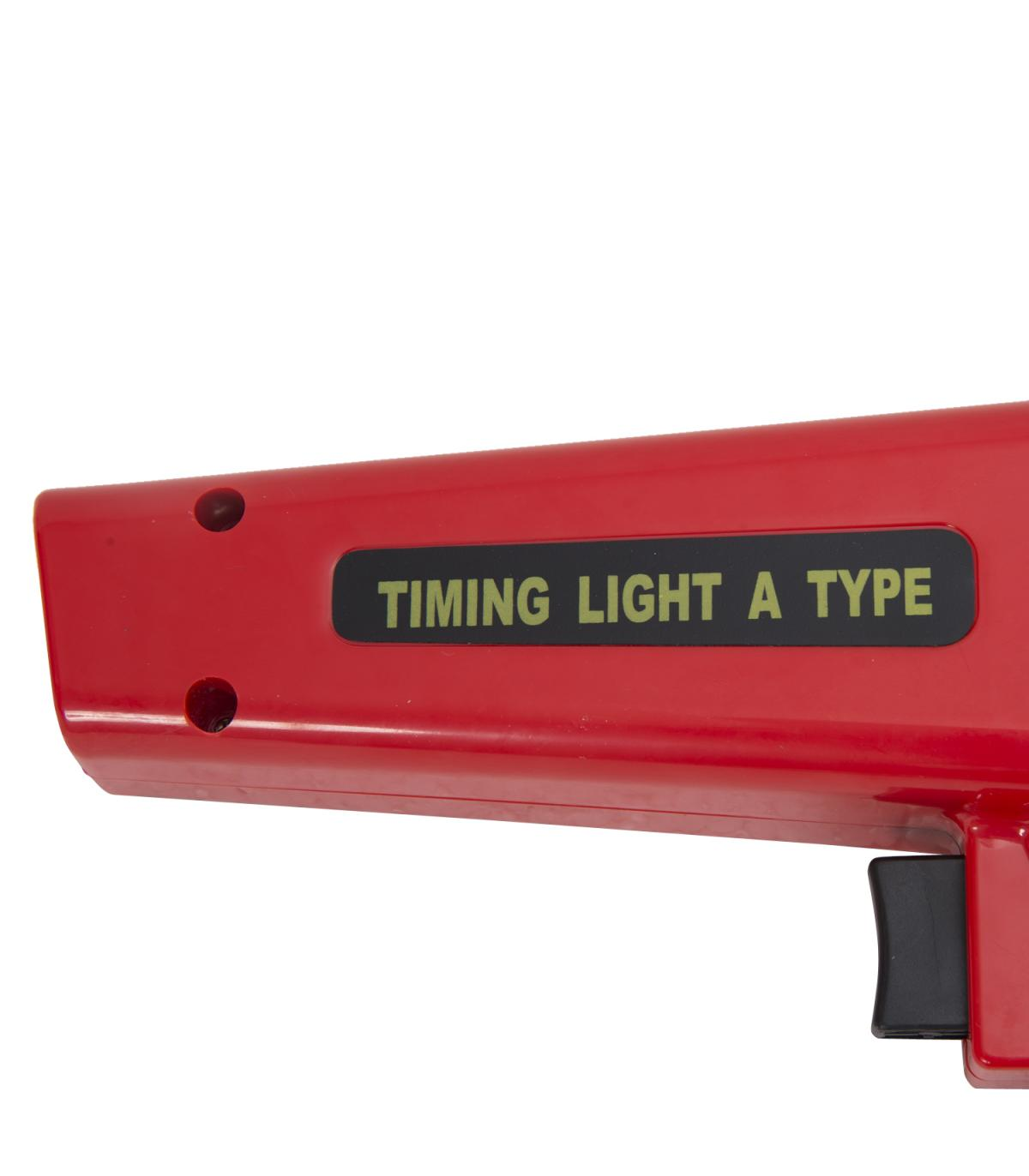 HOMCOM Pistola Estroboscopica 12V Motor Gasolina Lampara Xenon Punto De Encendido Color Rojo/…