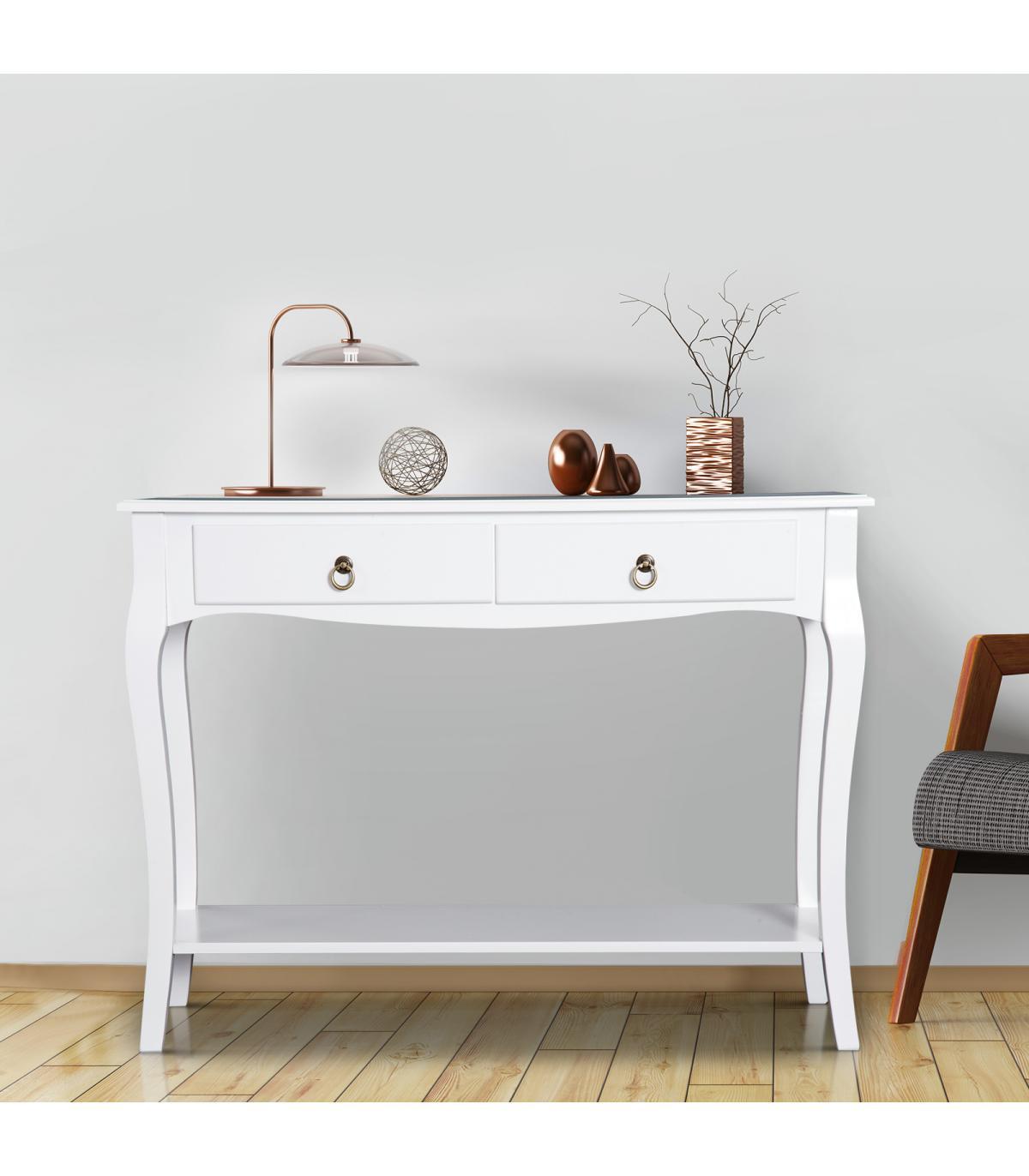 Aparador Comedor Homcom® Mueble Con Mesa Recibidor Salón ...