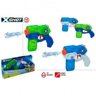 X-shot - set 2 pistolas agua stealth soaker