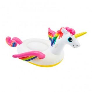 Flotador infantil unicornio hinchable 201 x 140 x 97 cm