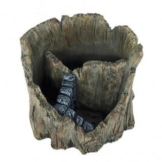 Macetero tronco para 3 plantas