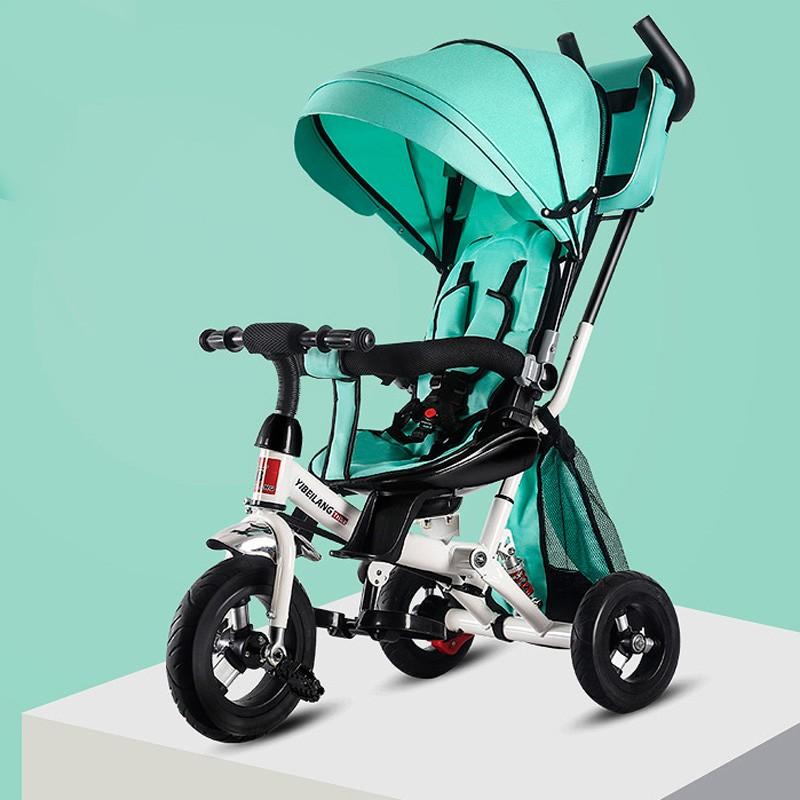 miniatura 26 - Triciclo-con-Capota-para-Ninos-Transformable-Pacifier