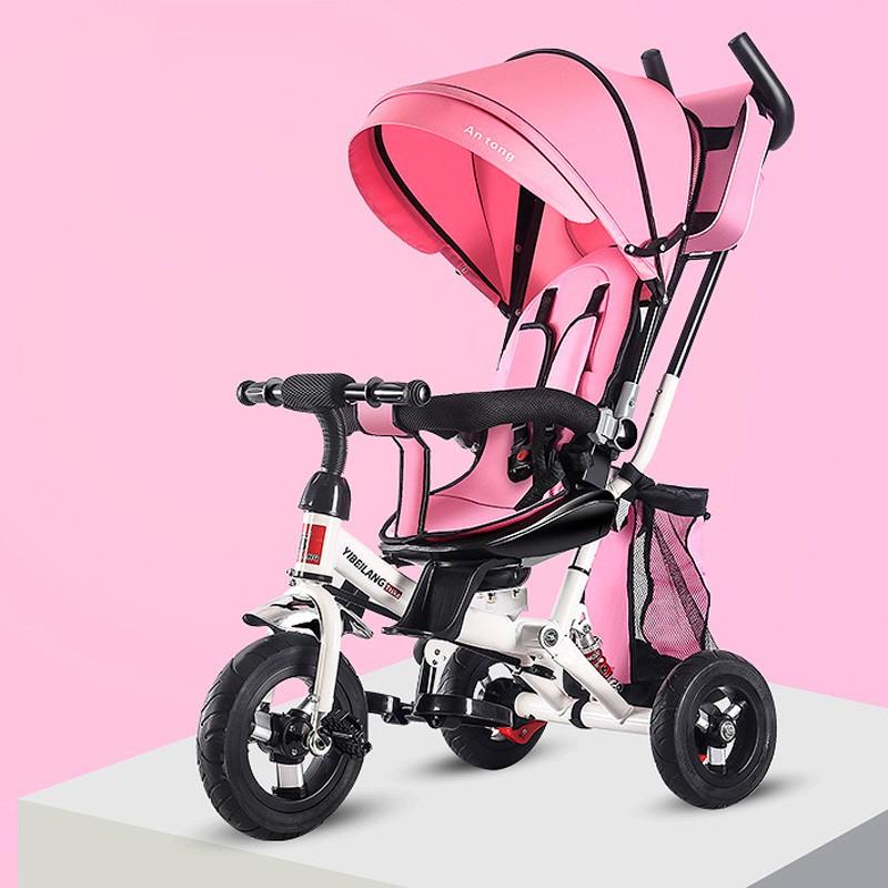 miniatura 14 - Triciclo-con-Capota-para-Ninos-Transformable-Pacifier