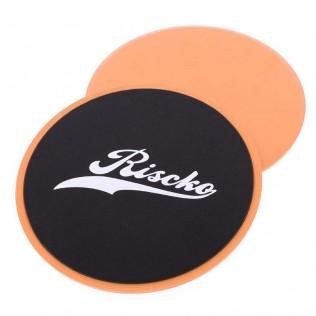 Discos deslizantes riscko exercise slider disc