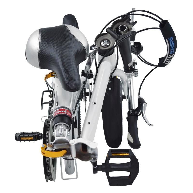 miniatura 19 - Bicicleta-plegable-con-ruedas-de-16-039-039-modelo-Super-Bike