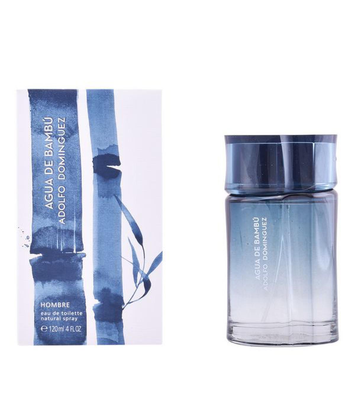 Perfume Hombre Agua De Bambú Man Adolfo Dominguez EDT (120 ml)