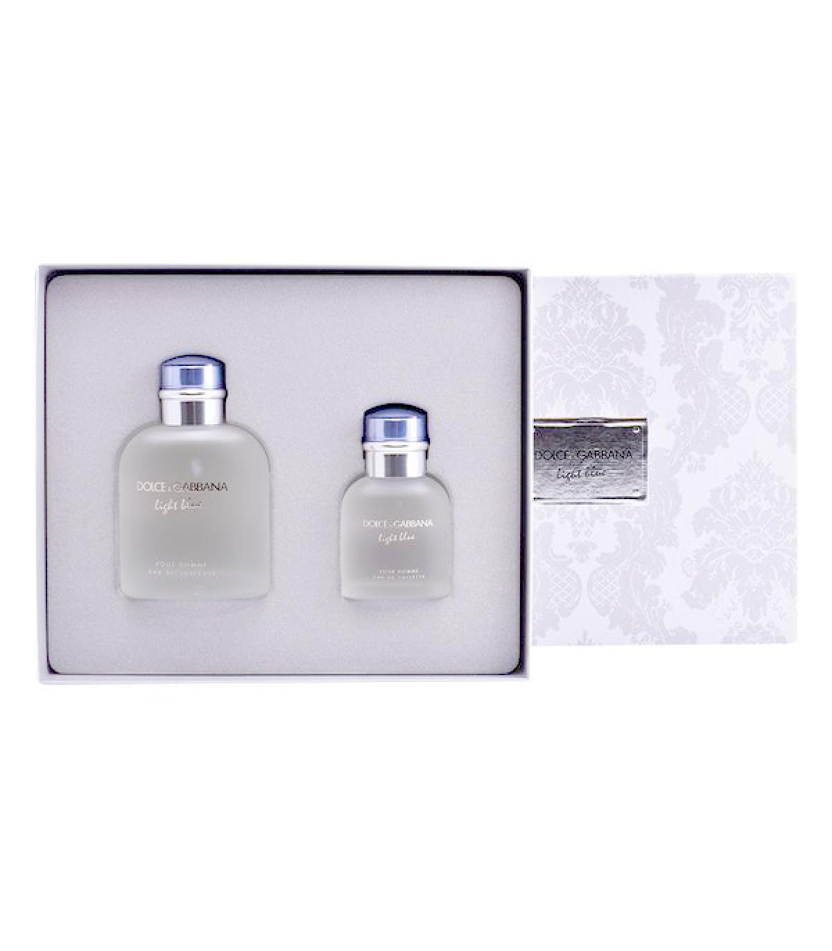 Blue De Perfume Pcs Light Dolceamp; Gabbana2 Hombre Set dCxthrsQ