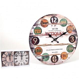 Reloj de Pared 34 cm