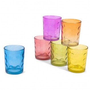Pack 6 vasos Capri 267 ml - Cristal
