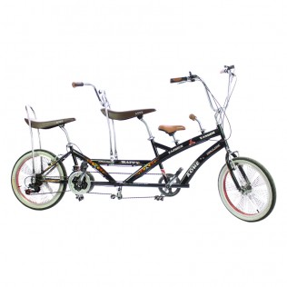 Bicicleta tándem Happy Family liquidación