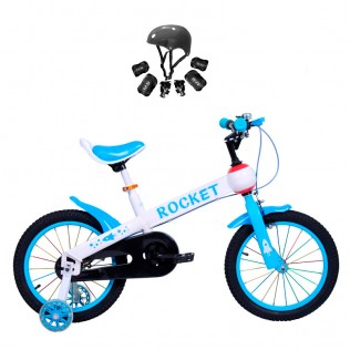 Bicicleta para niños con ruedines Rocket | BICICLETA INICIACIÓN