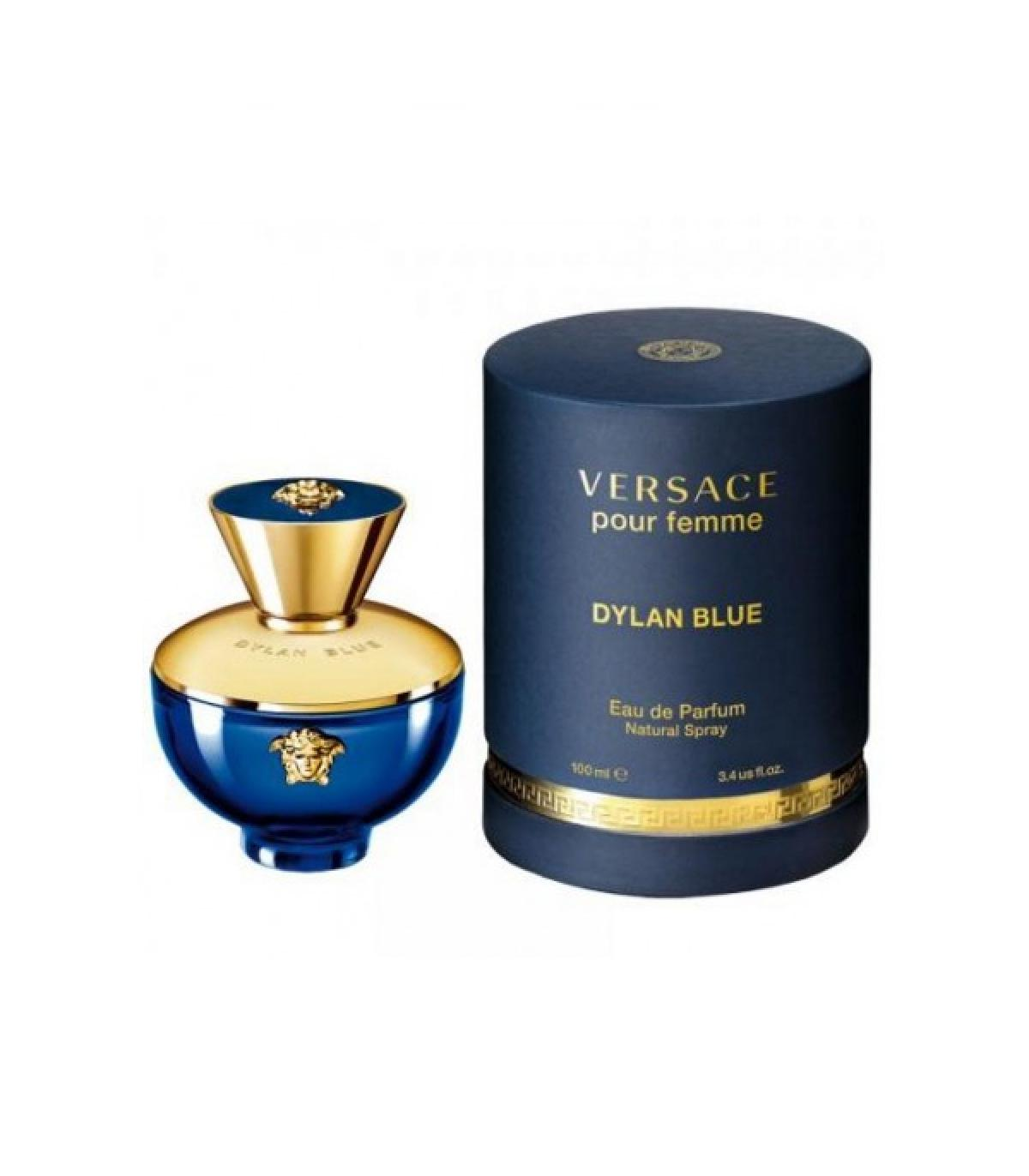 perfume mujer versace cilindro