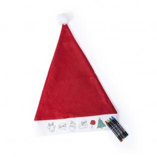 Gorro Papa Noel Niño Rupler - Imagen 1