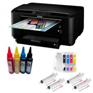 Impresora tinta epson a3 con cartuchos rellenables