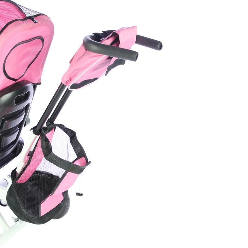 miniatura 24 - Triciclo-con-Capota-para-Ninos-Transformable-Pacifier