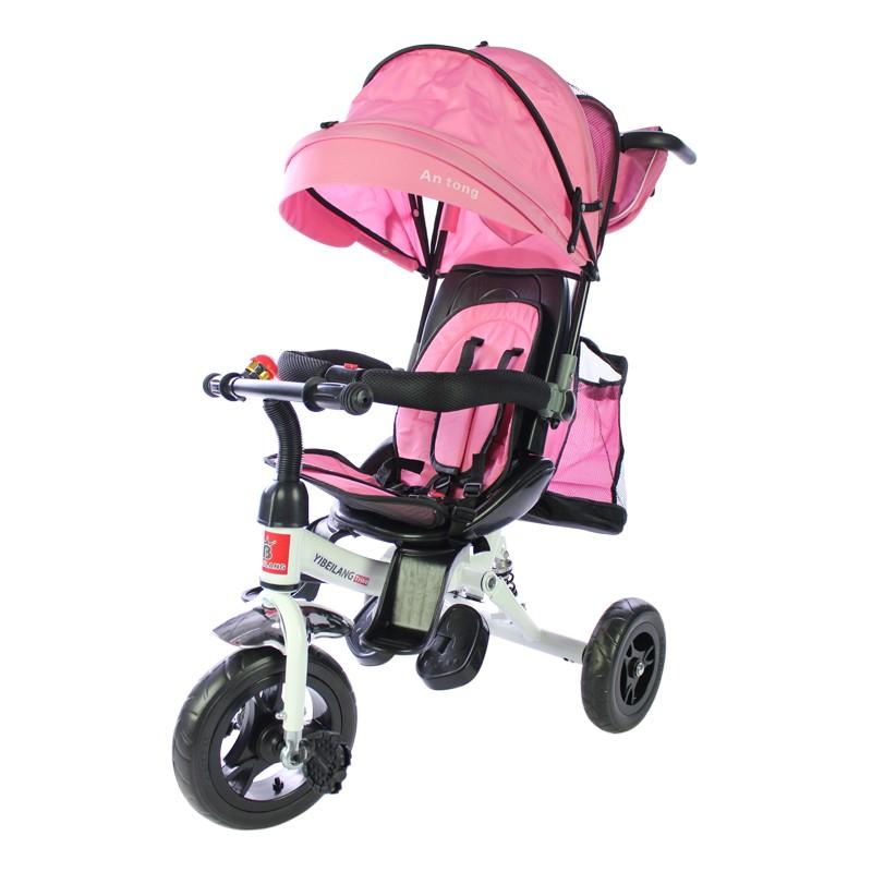miniatura 20 - Triciclo-con-Capota-para-Ninos-Transformable-Pacifier