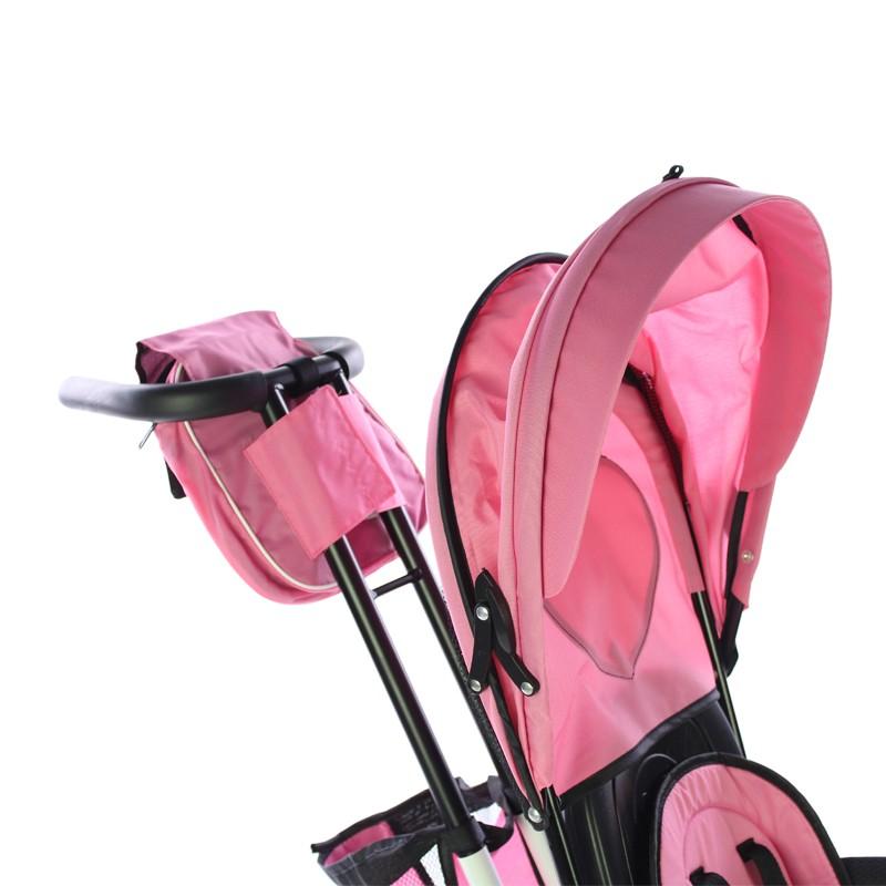 miniatura 22 - Triciclo-con-Capota-para-Ninos-Transformable-Pacifier