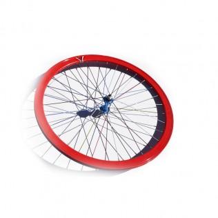 004l rueda trasera bicicleta personalizada fixie talla l