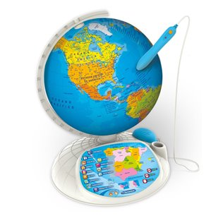 Planeta Tierra Mundo Globe-Clip de Corbata Bar 3D Lente De Vidrio-Para Hombre Novedad Regalo
