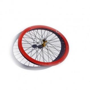 004m rueda trasera bicicleta personalizada fixie talla m
