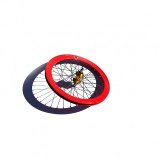004s rueda trasera bicicleta personalizada fixie talla s