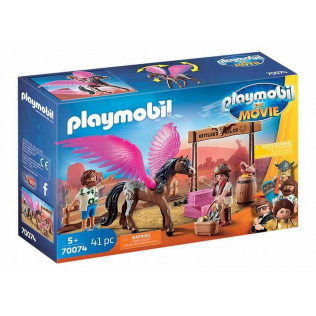 Playmobil The Movie Marla, Del y Caballo con Alas