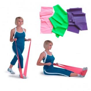 Banda elástica de resistencia fitness
