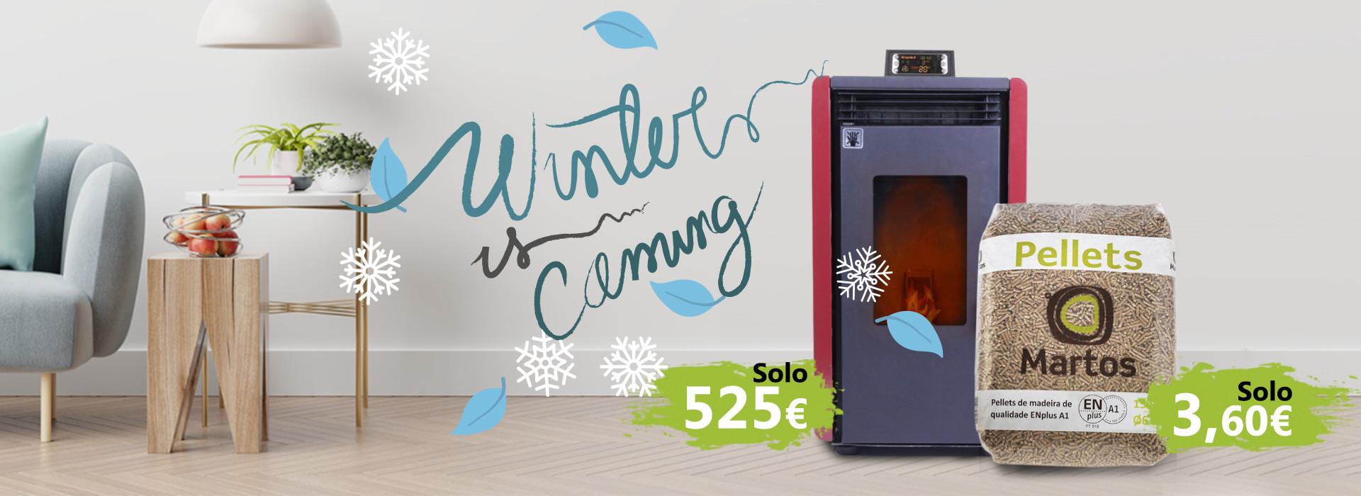 ¡ Prepárate para el invierno !